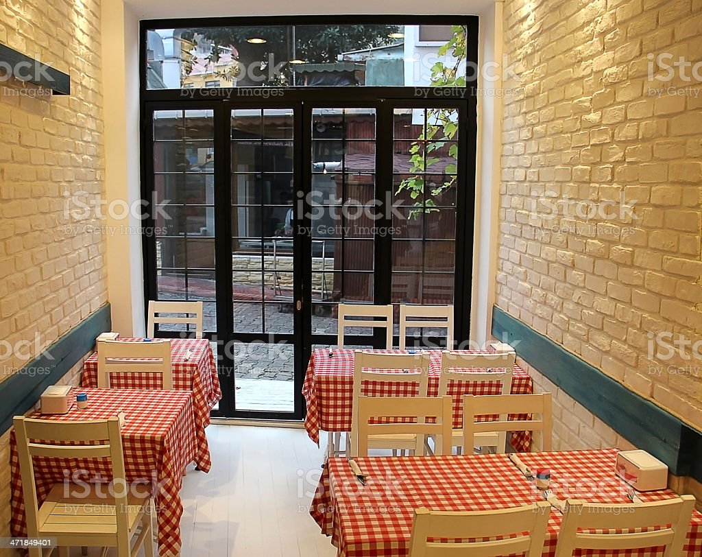 sweety restaurant stock photo