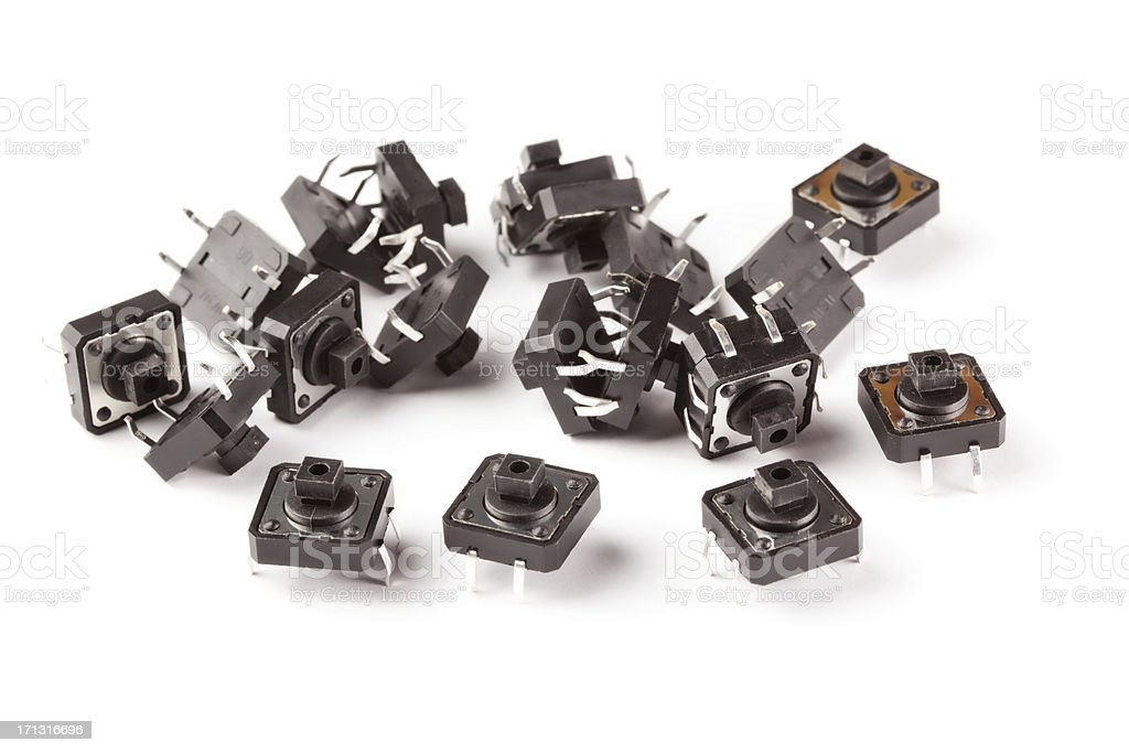 Swich components royalty-free stock photo