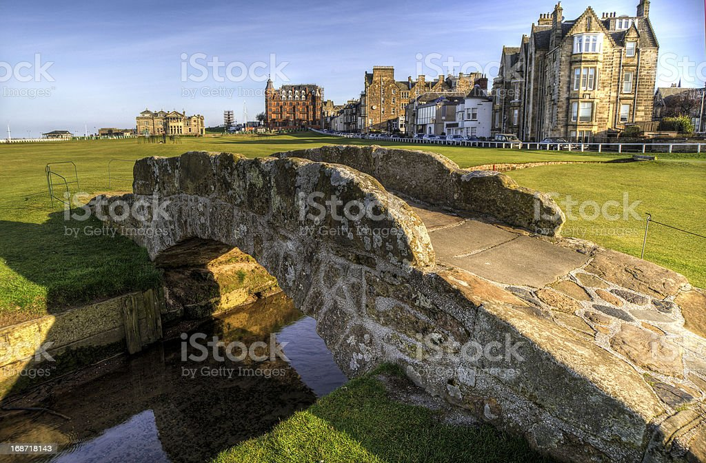 Swilcan Bridge stock photo