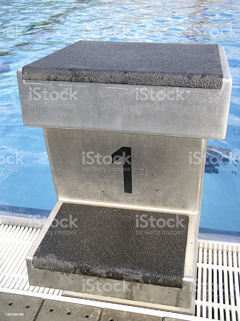 Swim board royalty-free stock photo