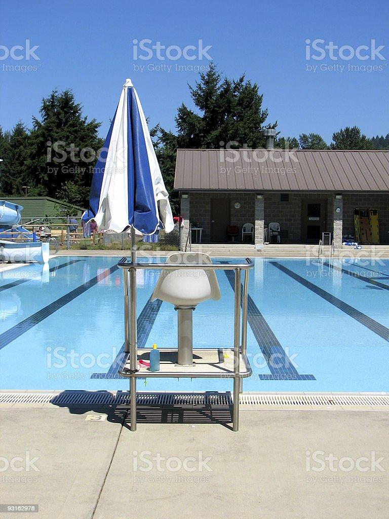 Swim Day royalty-free stock photo