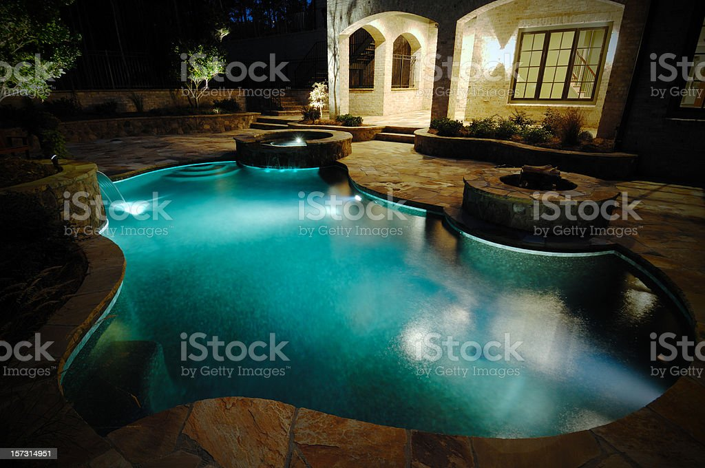 Swim in Luxury royalty-free stock photo
