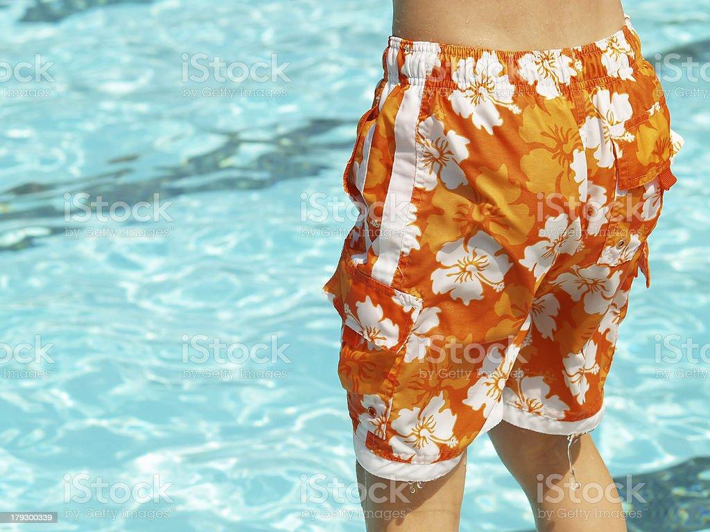 swim trunks royalty-free stock photo