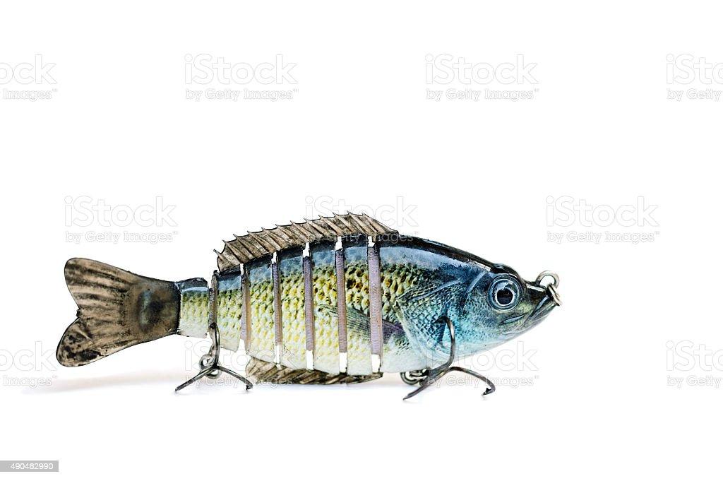Swimbait Fishing Lure stock photo