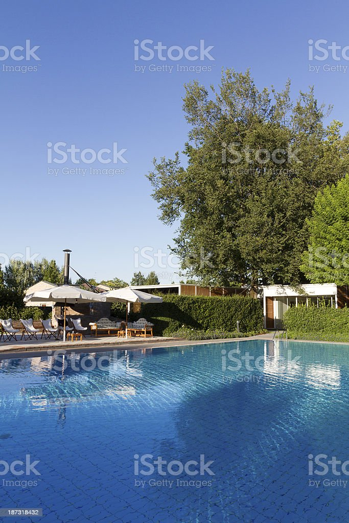 Swiming pool royalty-free stock photo