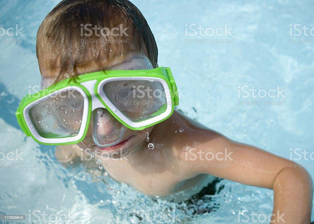 Swimmin royalty-free stock photo