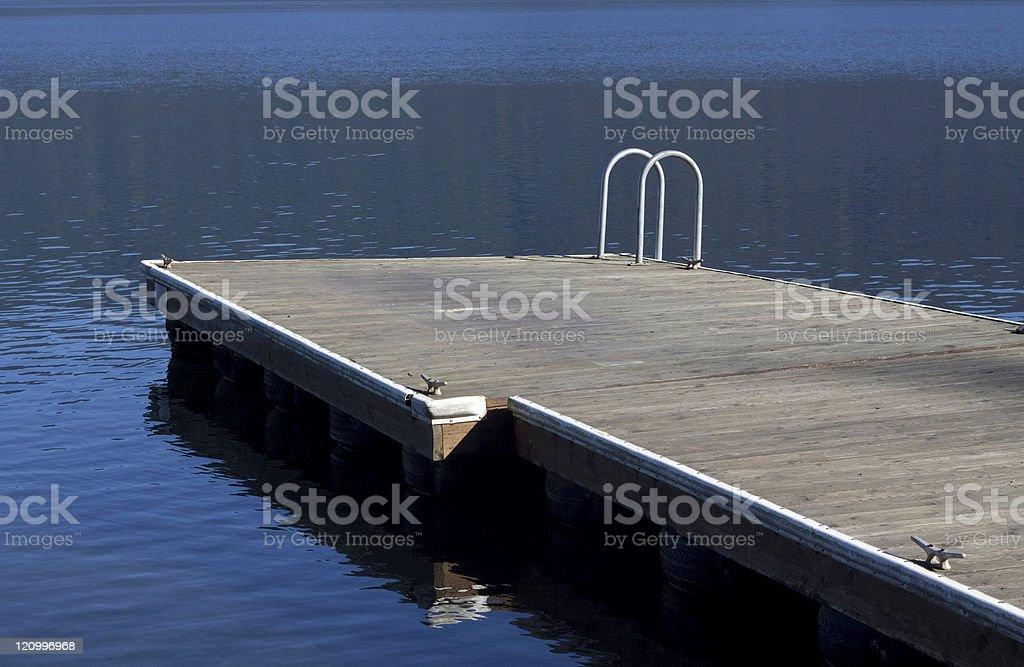Swimming, Boating, Fishing Platform royalty-free stock photo