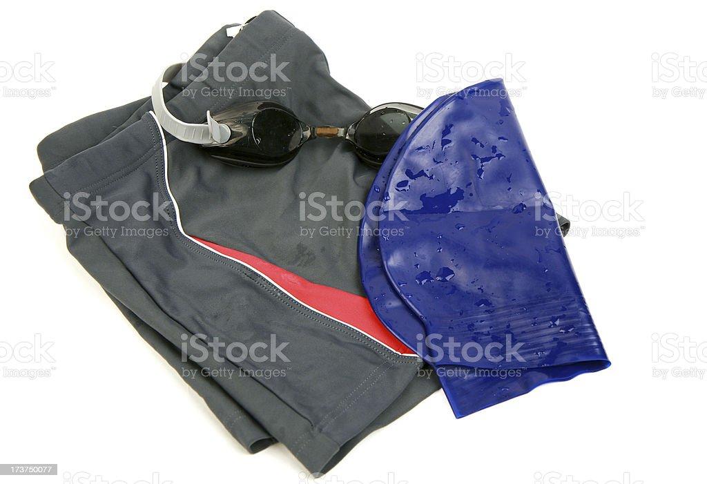 swimming equipment royalty-free stock photo
