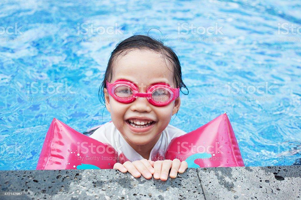 Swimming Fun stock photo