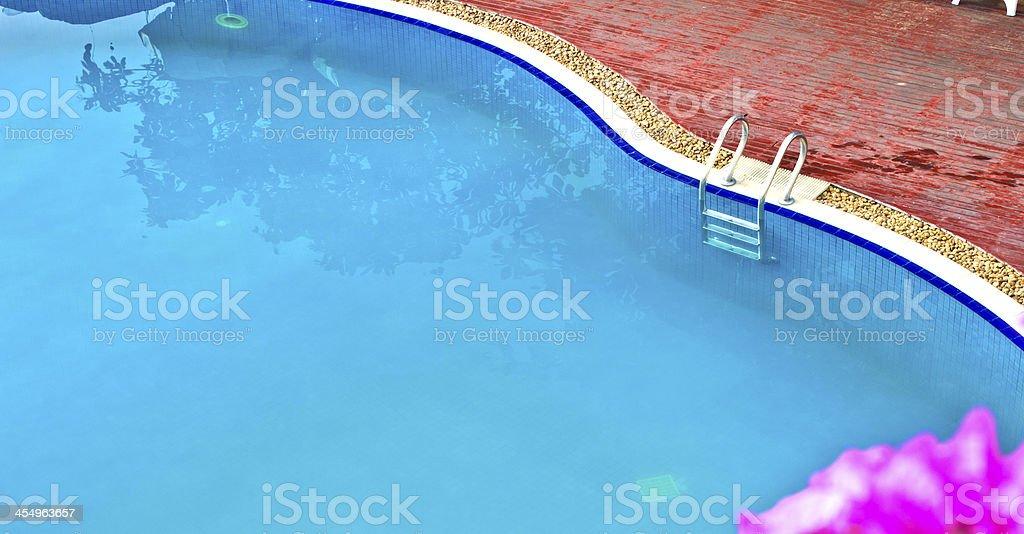 Swimming pool 3 royalty-free stock photo