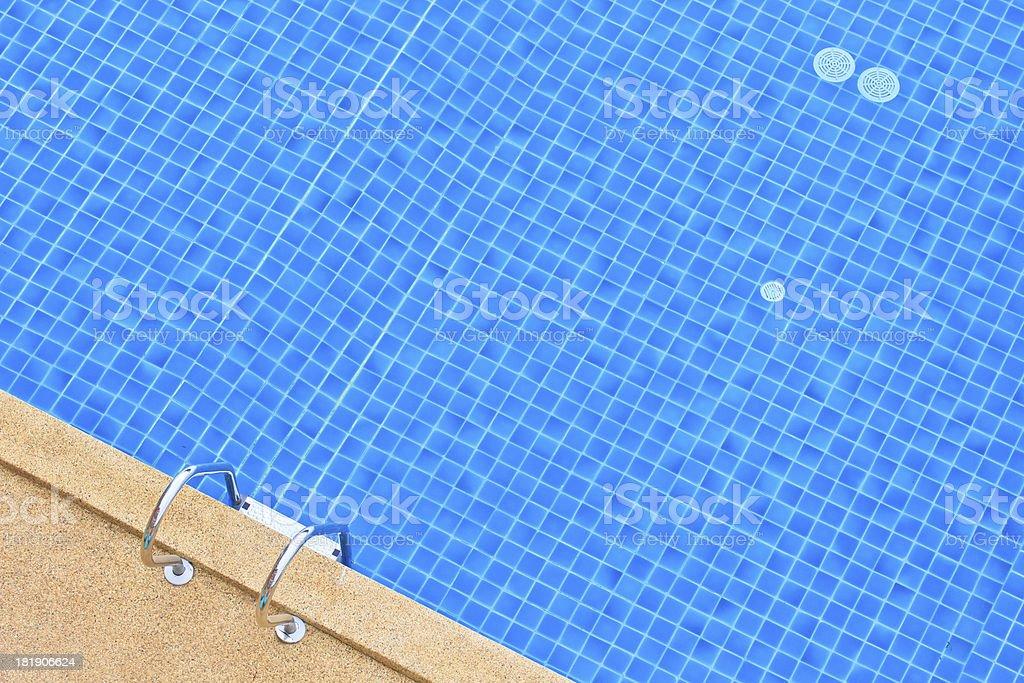 Swimming pool  at hotel royalty-free stock photo