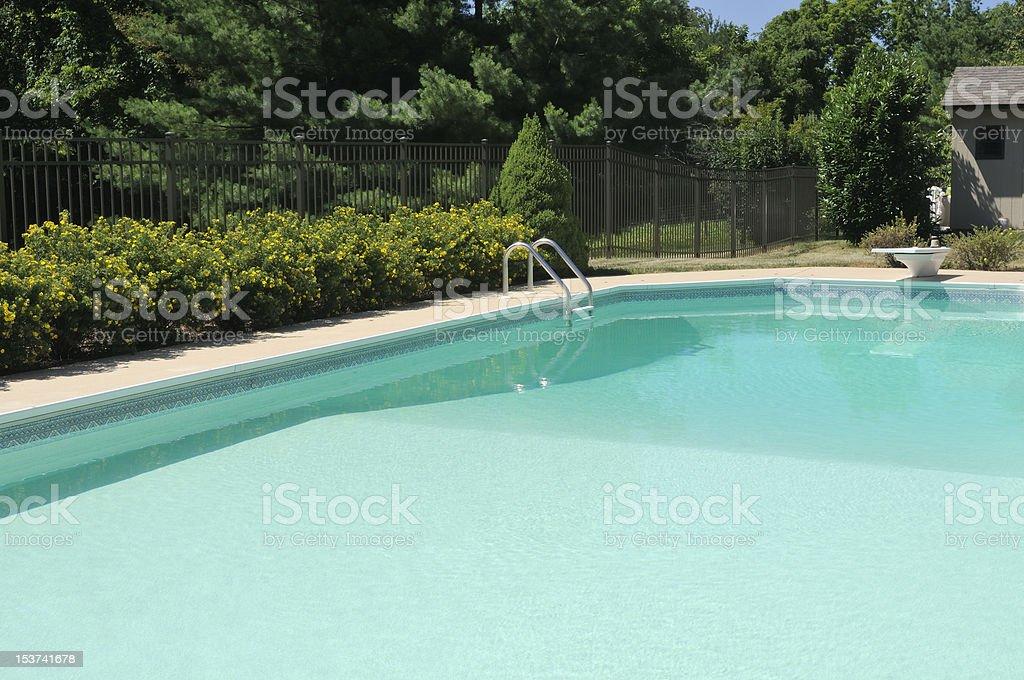 Swimming Pool Fun royalty-free stock photo