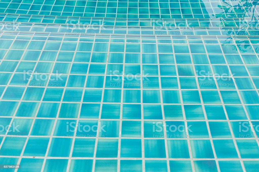 Swimming pool ground stock photo
