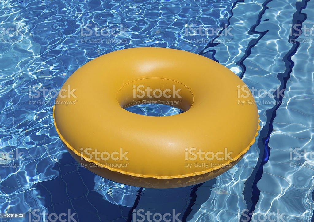 Swimming Pool Inner Tube royalty-free stock photo