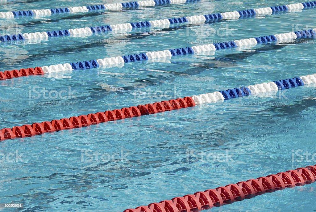 Swimming Pool Lanes Stock Photo Istock