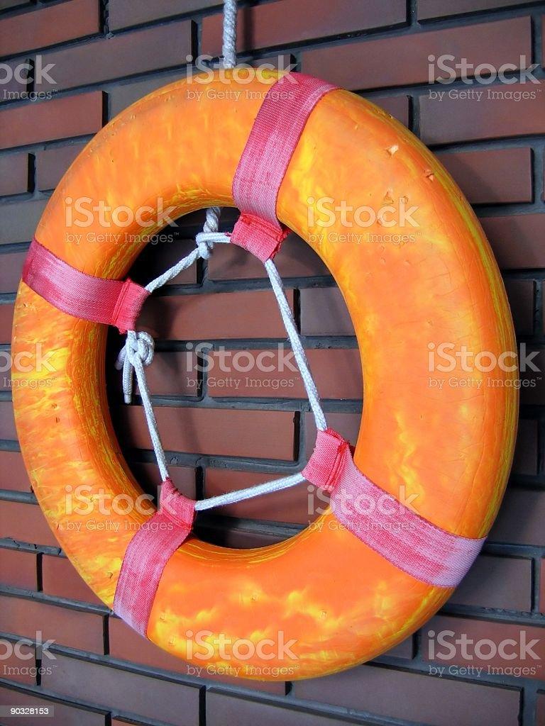 Swimming Pool Life Ring royalty-free stock photo