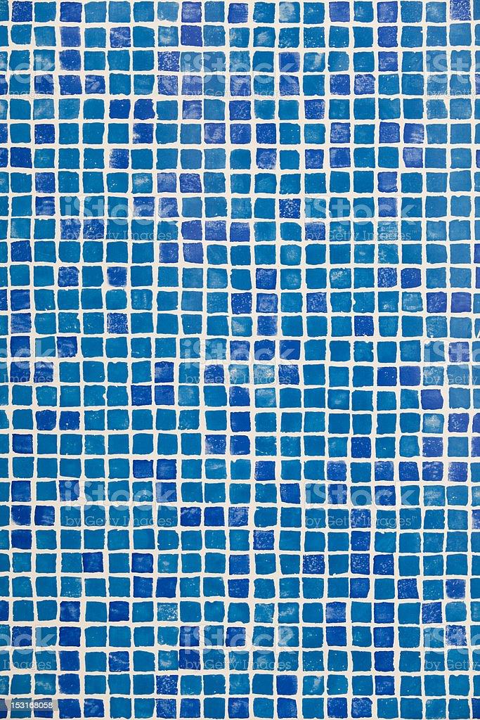 Swimming pool mosaic royalty-free stock photo