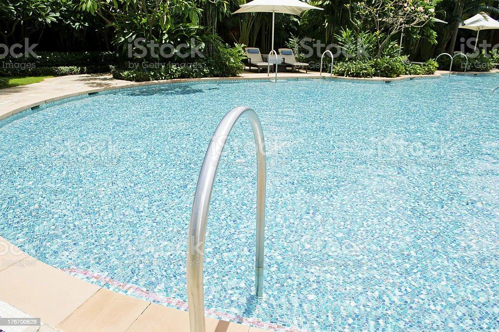 swimming pool royalty-free stock photo