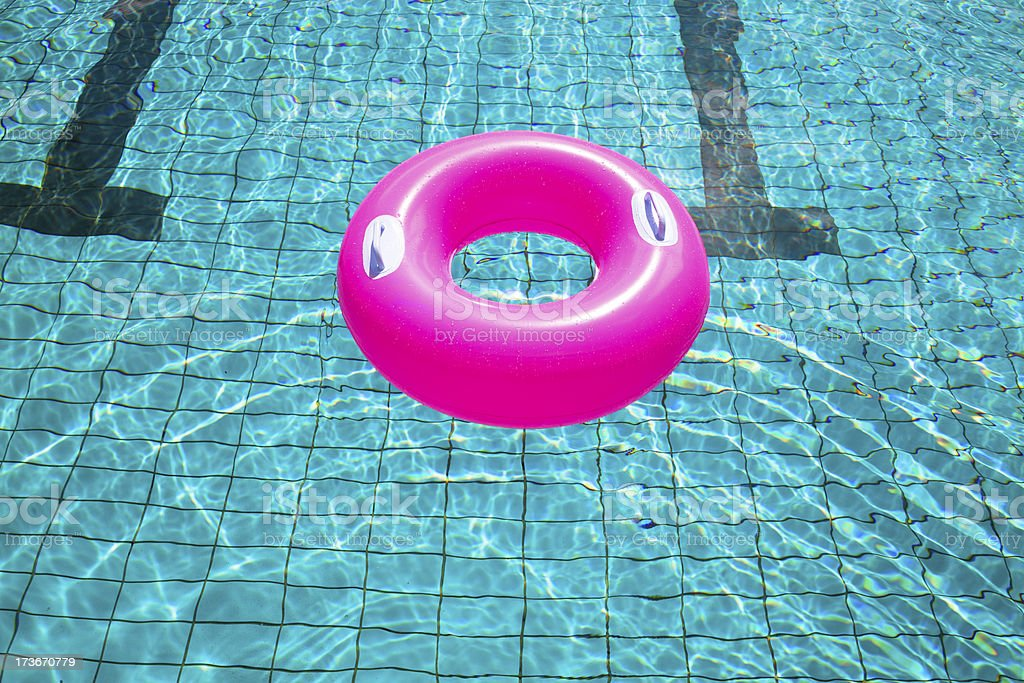 swimming pool rings royalty-free stock photo