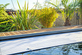 swimming pool roller-shutter covers