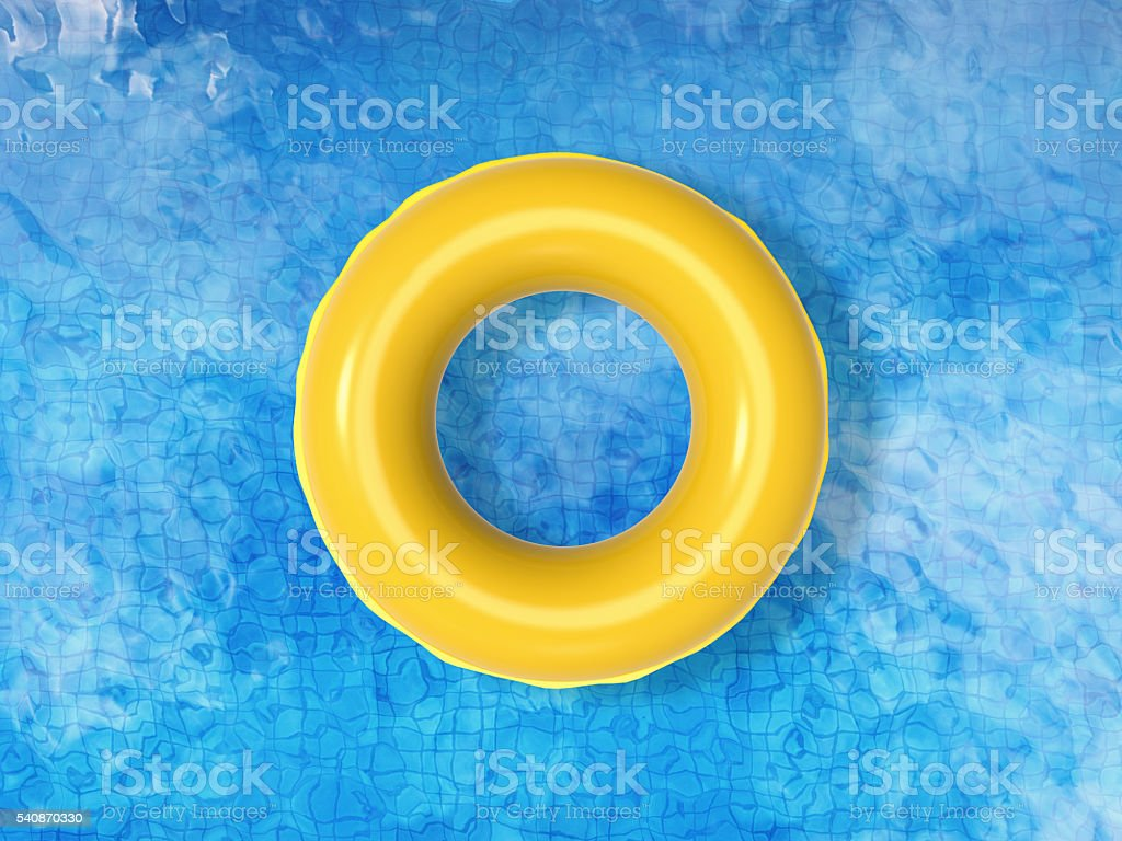 swimming pool top view stock photo