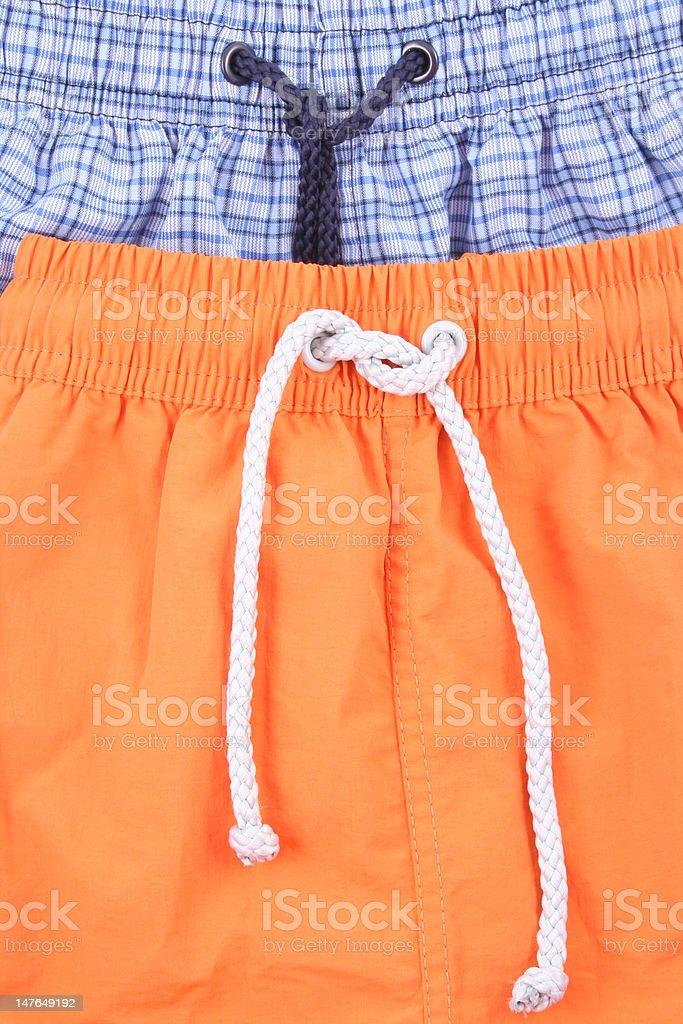 swimming shorts stock photo