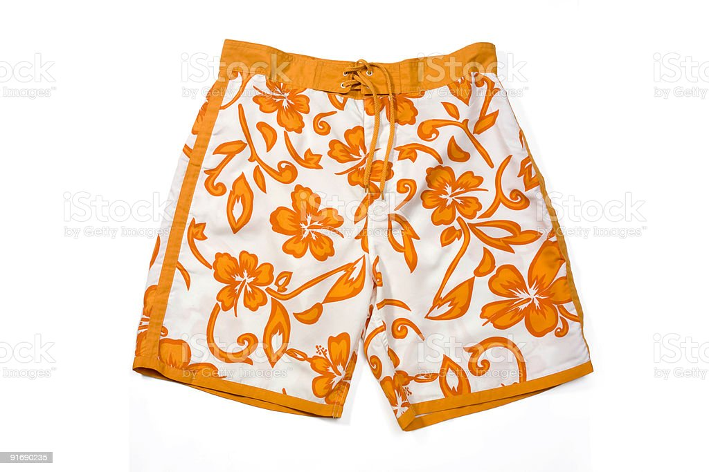 Swimming Trunks stock photo