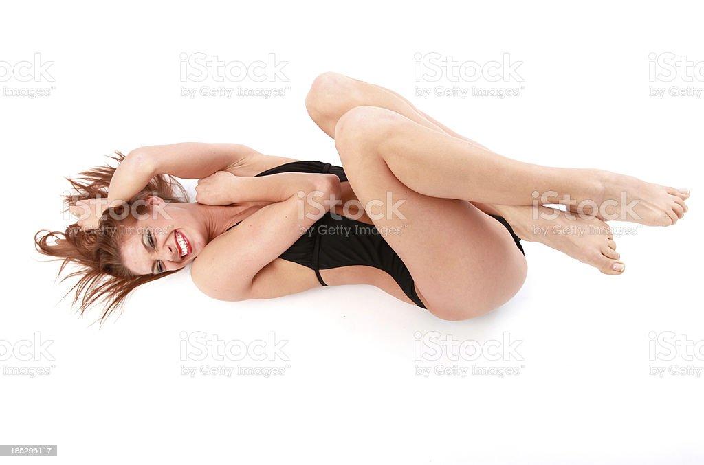 Traje de baño diversión foto de stock libre de derechos
