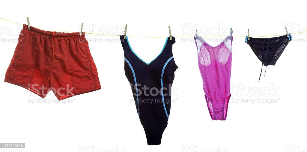 swimsuits royalty-free stock photo
