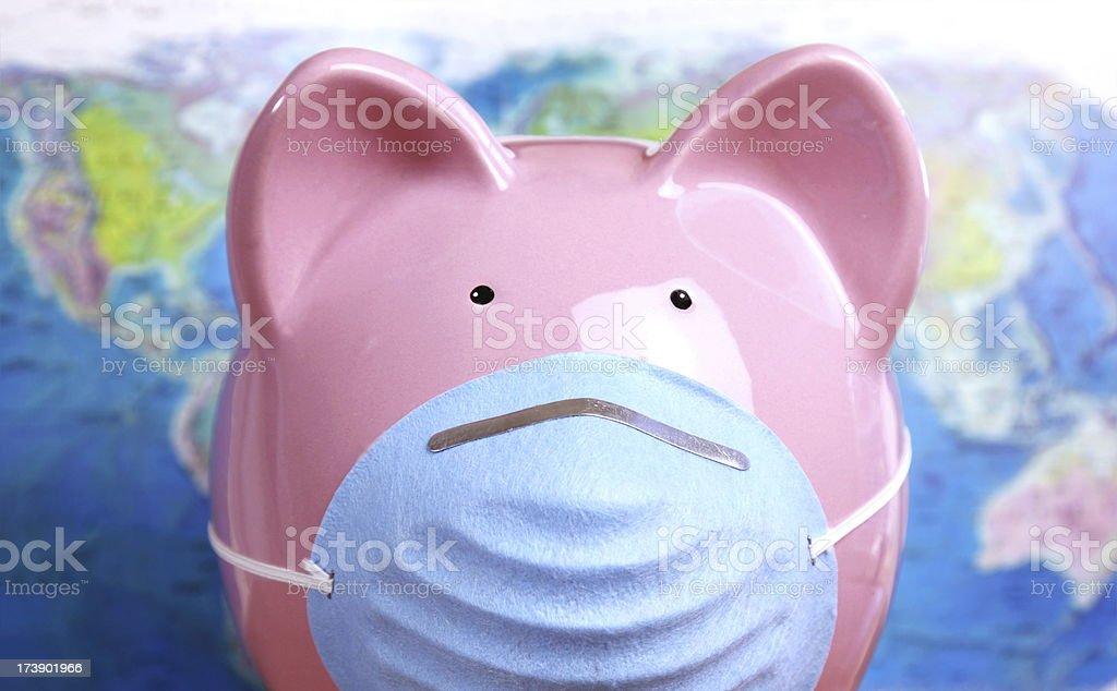 Swine Flu Pandemic Concept royalty-free stock photo
