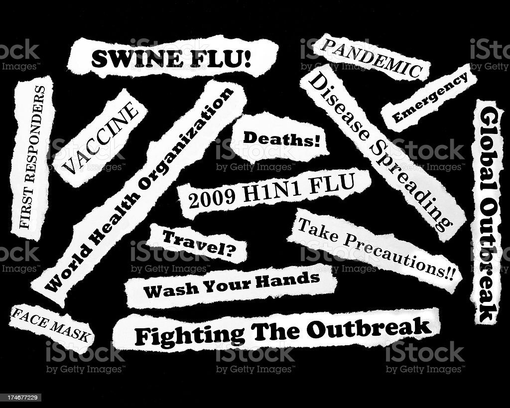 Swine Flu stock photo