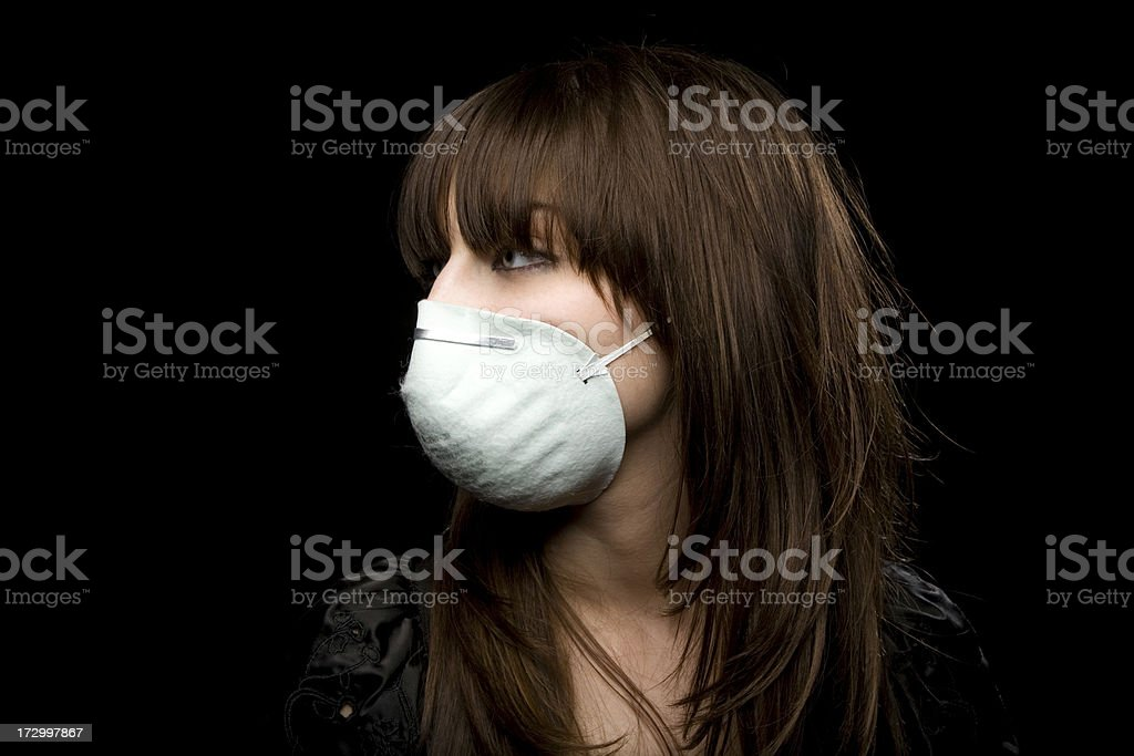 Swine Flu Portraits royalty-free stock photo