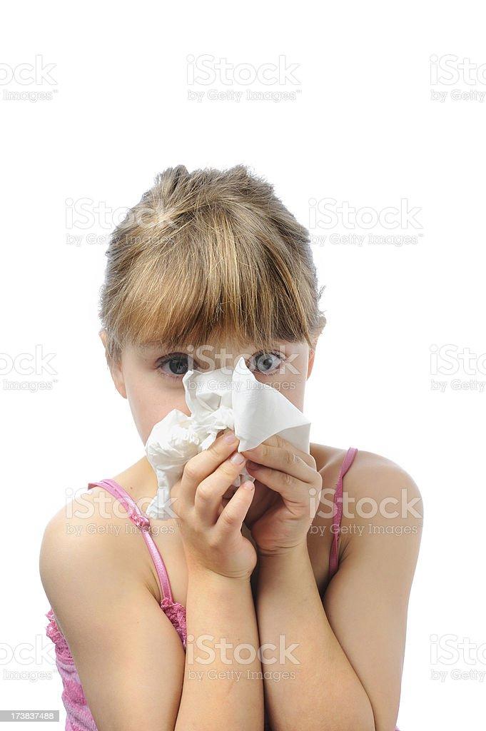 Swine Flu Precautions royalty-free stock photo