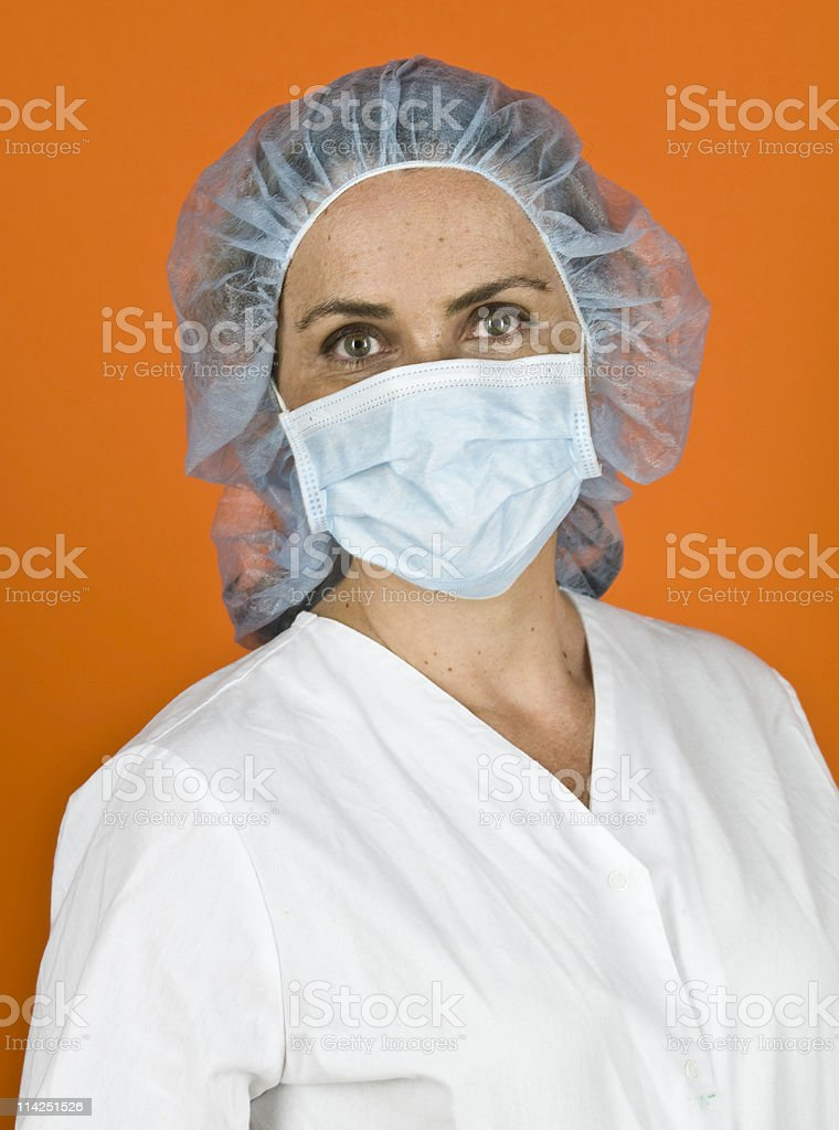 Swine flu preparedness stock photo