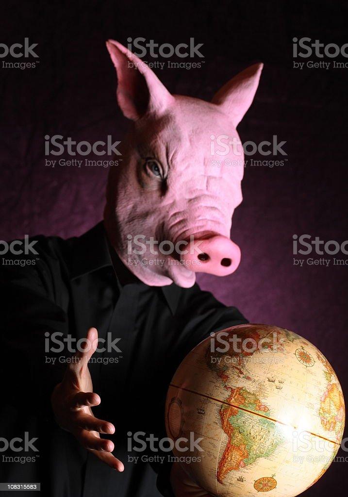 Swine Flu Takes Over the World stock photo
