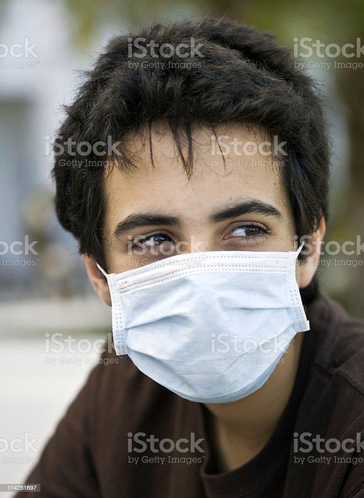 Swine flu times royalty-free stock photo
