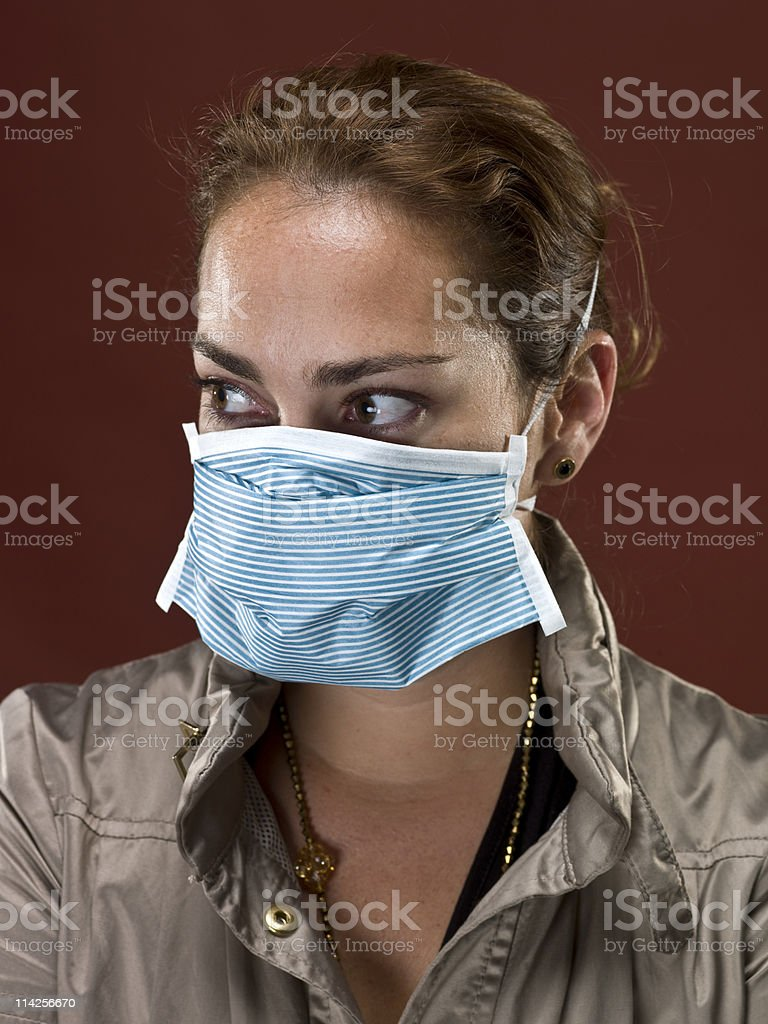 Swine Flu Times stock photo