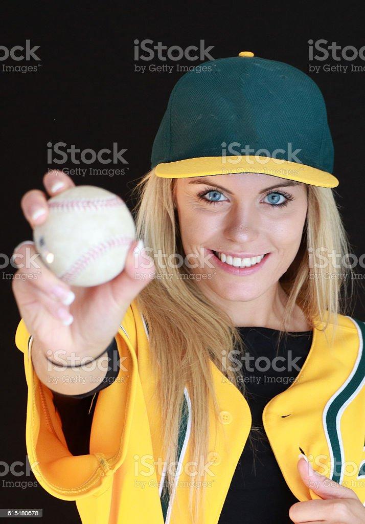 Swing Batter stock photo