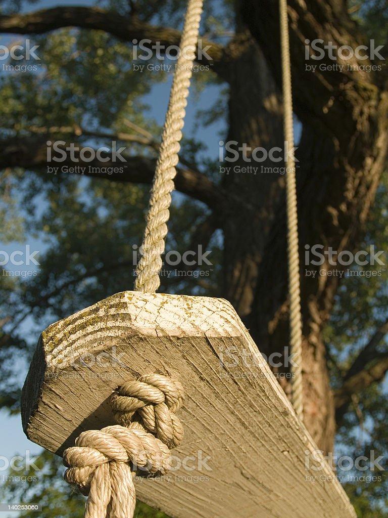 Swing Below stock photo