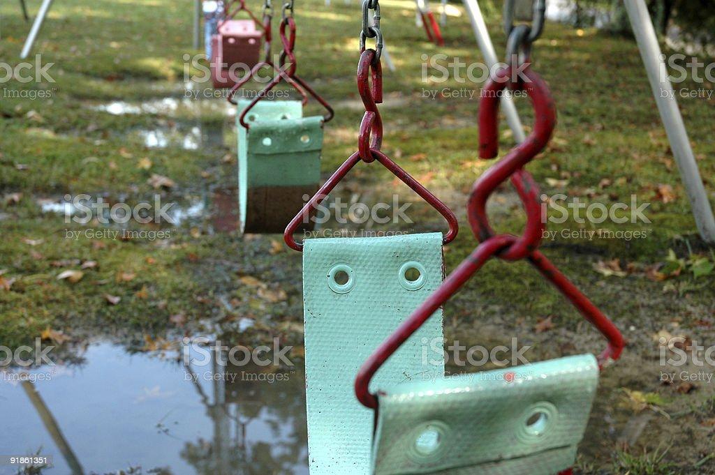 Swing - Park royalty-free stock photo