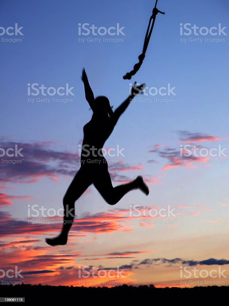 Swing! stock photo