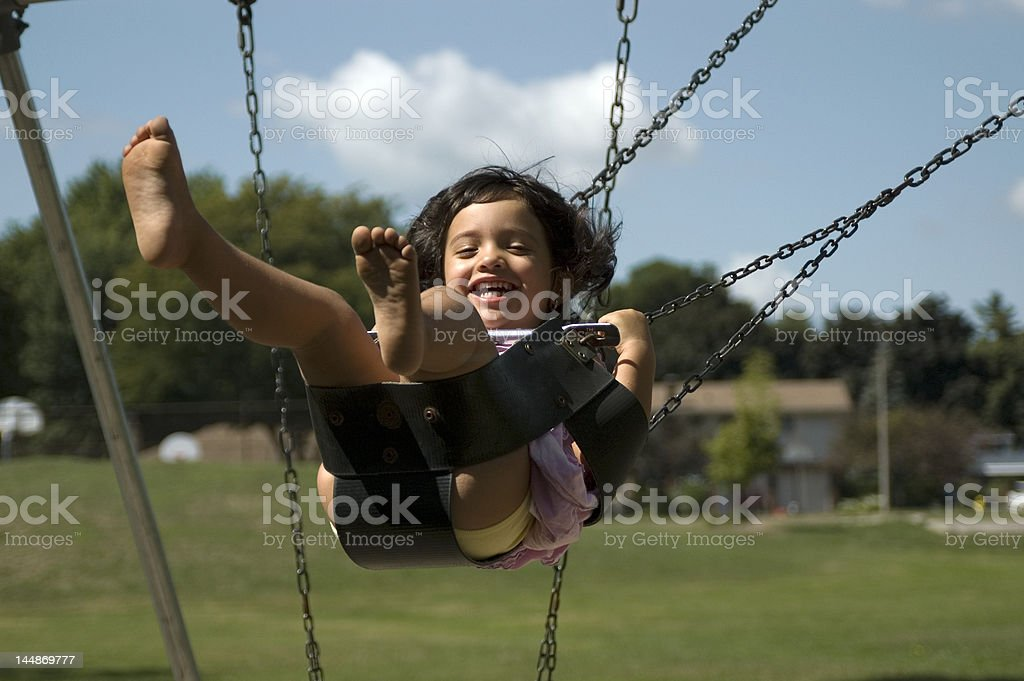 Swing royalty-free stock photo