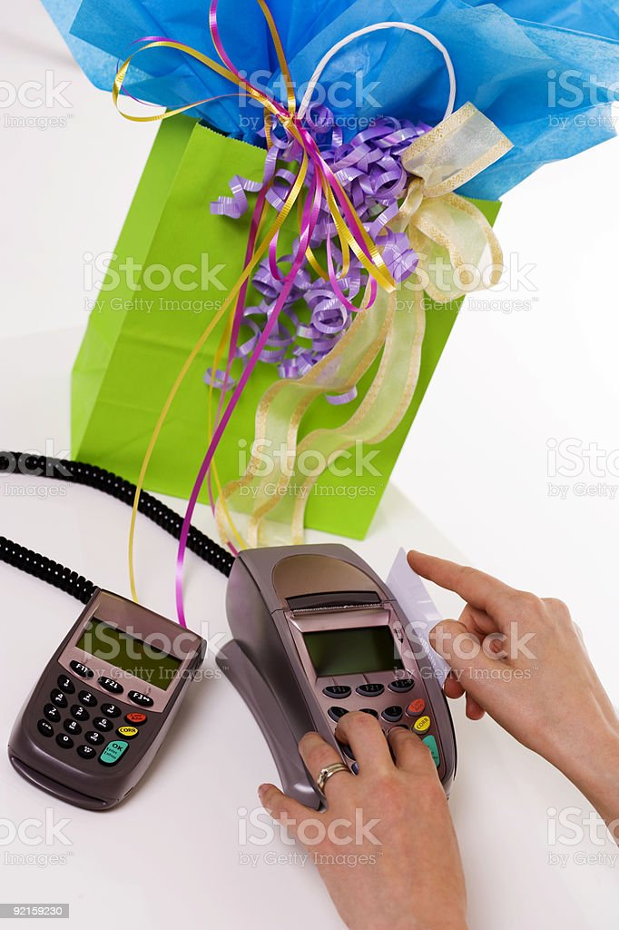 Swipe for Purchase royalty-free stock photo