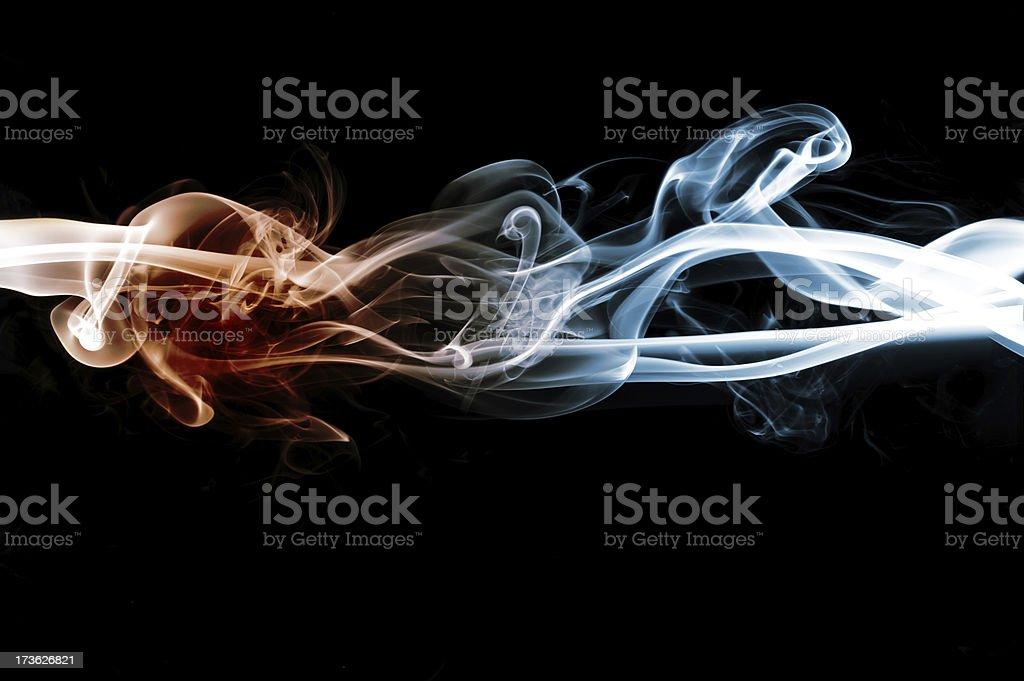 swirl smoke royalty-free stock photo