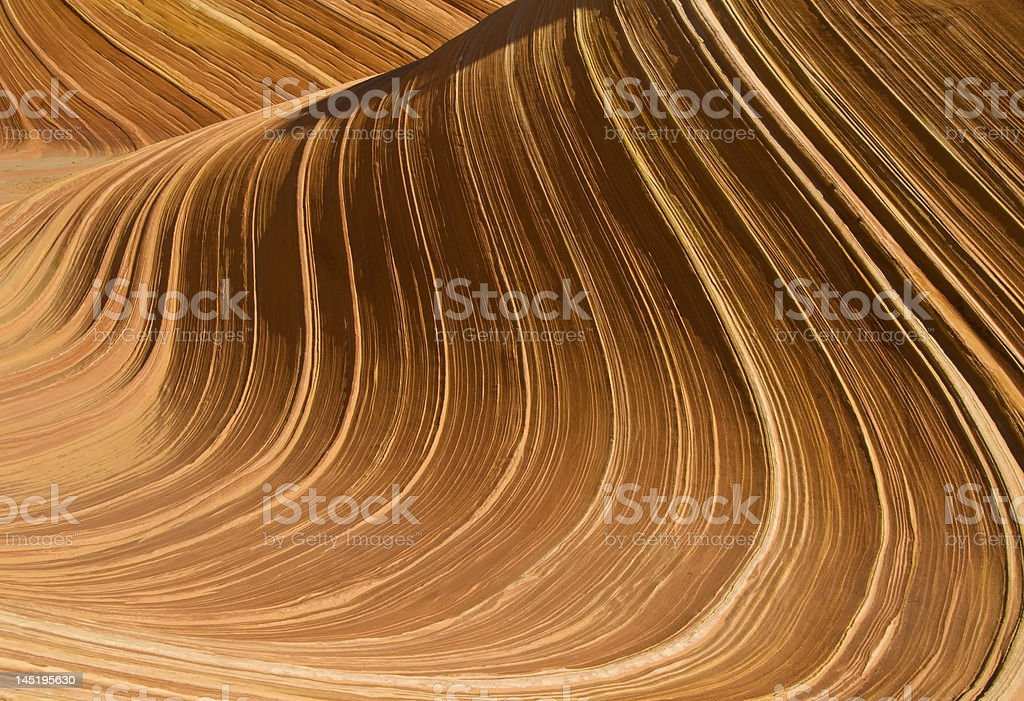 Swirl Wave royalty-free stock photo