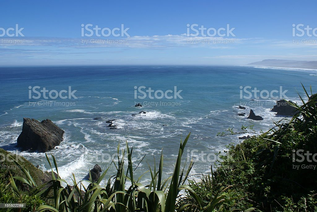 Swirling coastal waters royalty-free stock photo