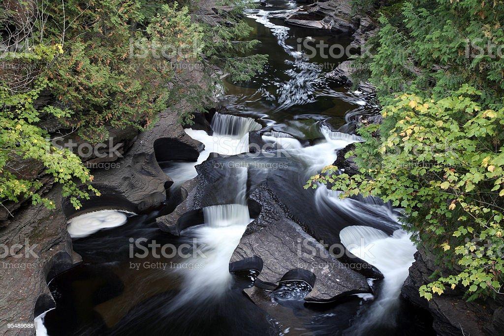 Swirling water stock photo