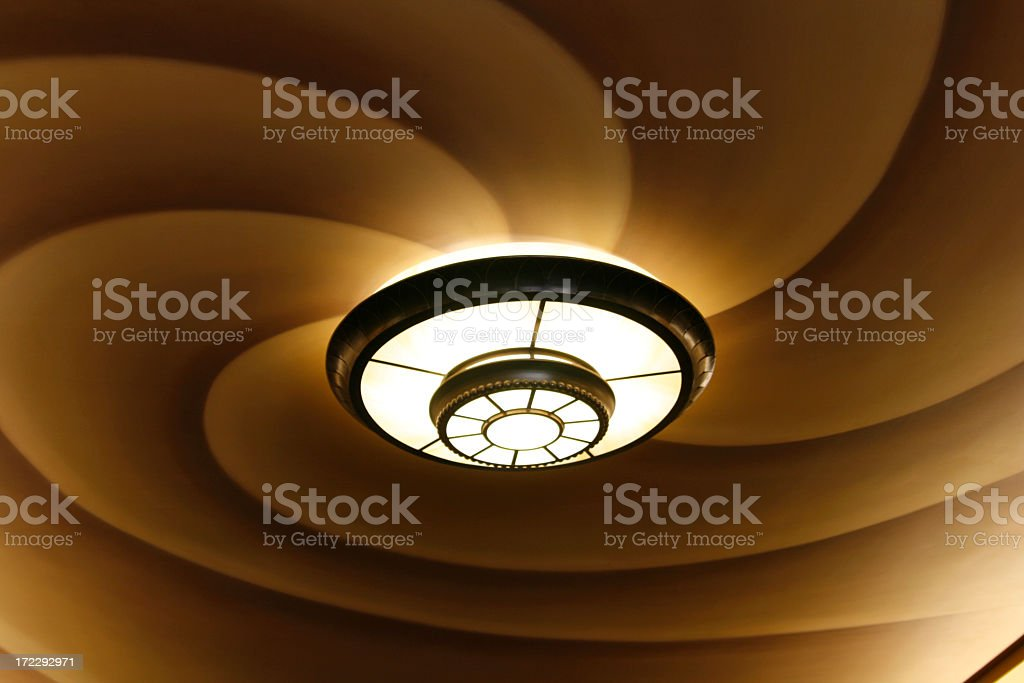 Swirly Light royalty-free stock photo