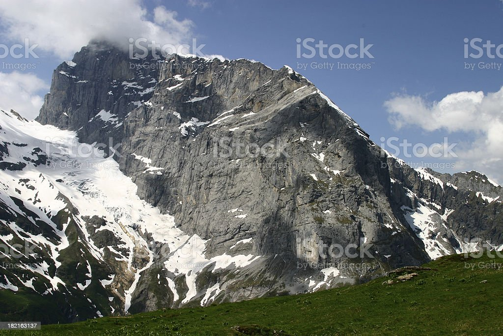Swiss Alps 2 royalty-free stock photo