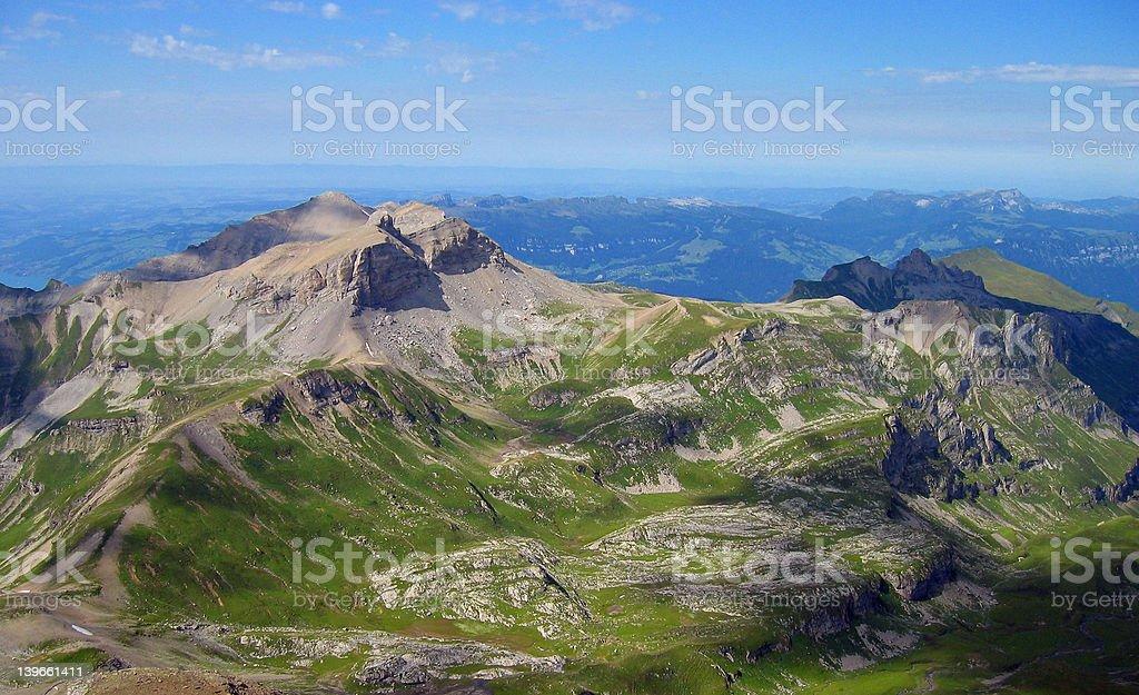 Swiss Alps 4 royalty-free stock photo
